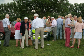 Photo: There was an excellent turnout at the Section gathering