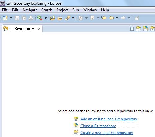 Figura 11 - Git Repository Exploring
