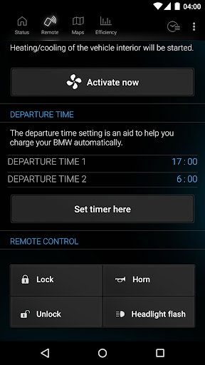 My BMW Remote app (apk) free download for Android/PC/Windows