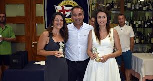 Juanjo Segura con dos participantes.