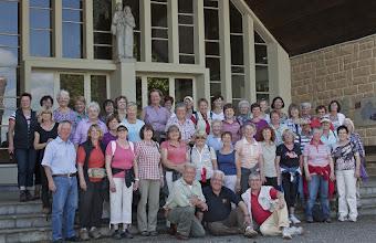 Photo: les 41 femmes de Lebach à la chapelle Saint Joseph Ormersviller