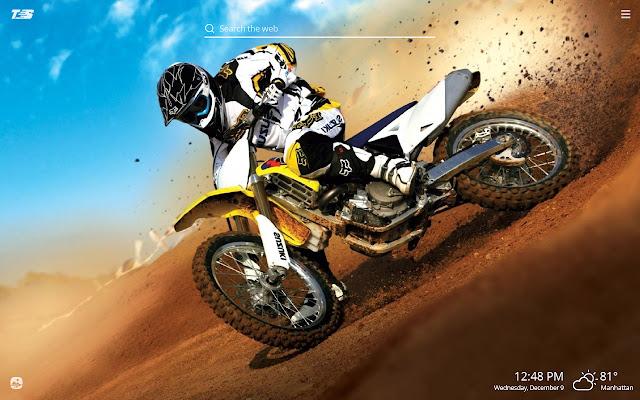 Dirt Bikes HD Wallpapers New Tab Theme