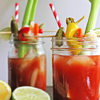 Dill Pickle Bloody Mary.