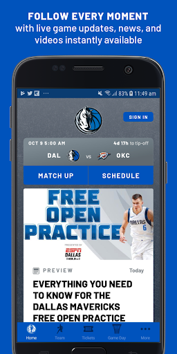 Dallas Mavericks screenshots 1