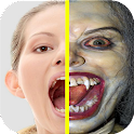 Zombie Photo Booth Scary Masks icon