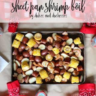 Sheet Pan Shrimp Boil.