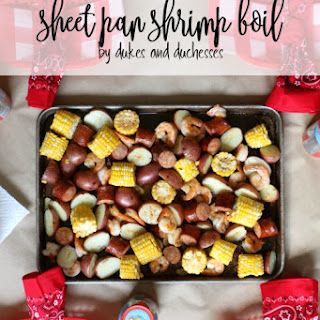 Sheet Pan Shrimp Boil.