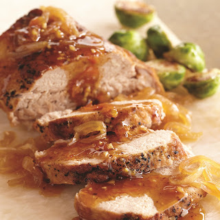 Slow Cooker Marmalade Glazed Pork Roast