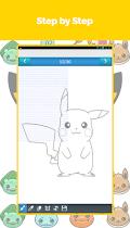 Draw Pikatchu & His Friends - screenshot thumbnail 12