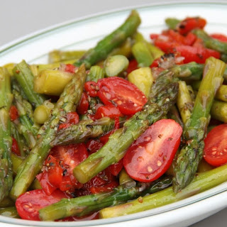 Cold Marinated Asparagus Salad