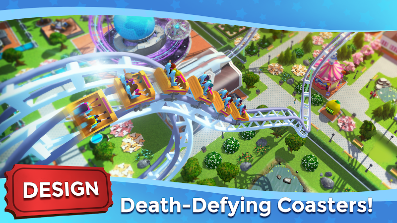 RollerCoaster Tycoon Touch - Build your Theme Park Screenshot 1