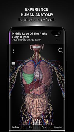 Anatomyka - 3D Human Anatomy Atlas Apk 1