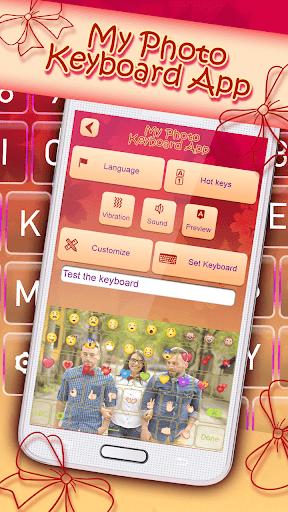 私の写真キーボードアプリ