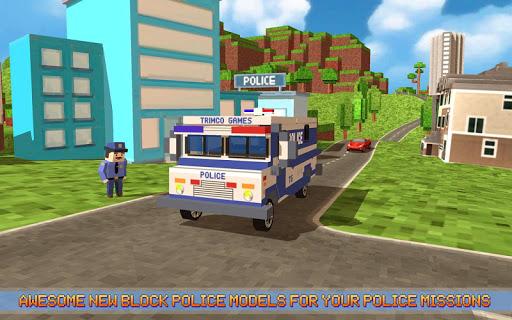 阻拦城市警察巡逻