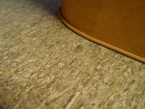 Photo: closeup of floor, reminds me of Alfalfa!