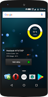 CPU Widget Screenshot