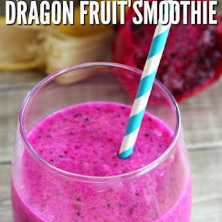 Exotic Dragon Fruit Smoothie.
