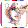 How To Draw Hairstyles - draw hairstyles APK