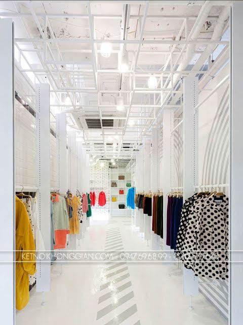 thiết kế shop túi xách thời trang 5