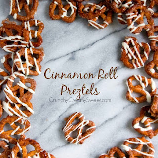 Cinnamon Roll Pretzels