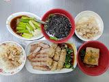 霞火雞肉飯魯肉飯