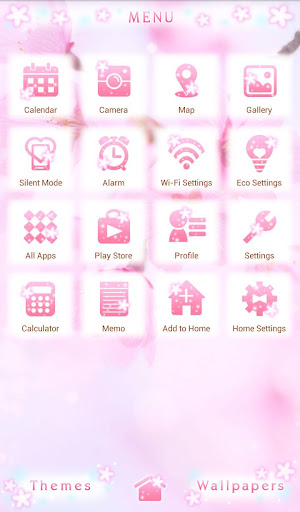 Lovely Theme-Cherry Blossoms- 1.0.0 Windows u7528 2