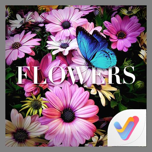 Flowers 3D V Launcher Theme