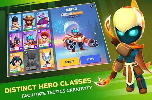 Heroes Strike Offline - MOBA & Battle Royale apkpoly screenshots 8