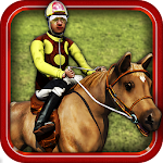 Equestrian Horse Racing Game Icon