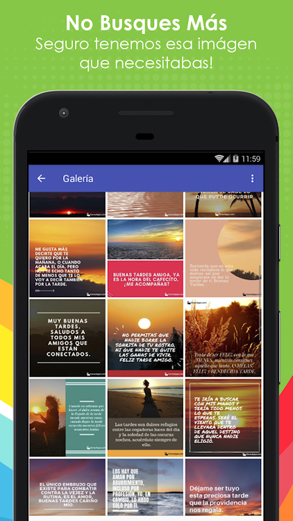 Frases Bonitas Buenas Tardes Android приложения Appagg