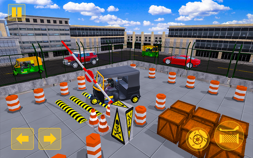 Rickshaw Driving Adventure u2013 Tuk Tuk Parking Game apkmind screenshots 4