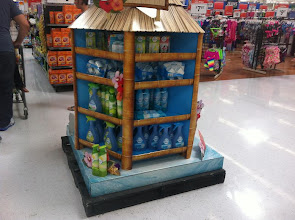 Photo: Just off the end of the fragrance aisle, there was a large display for another brand of air fresheners.