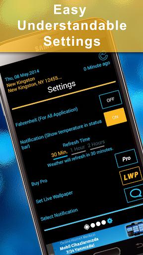 Weather Rise Clock 30+ Widgets 4.2.2 screenshots 7