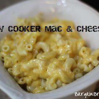 Slow Cooker Three Cheese Macaroni