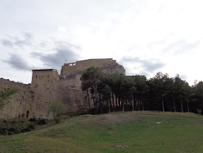 Photo: Fortaleza Morella from the north side