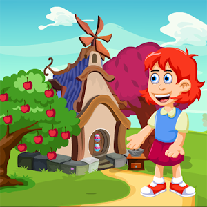Funny School Girl Rescue Kavi Escape Game-301