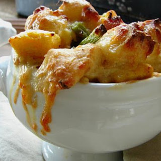 Savory Fall Bread Pudding