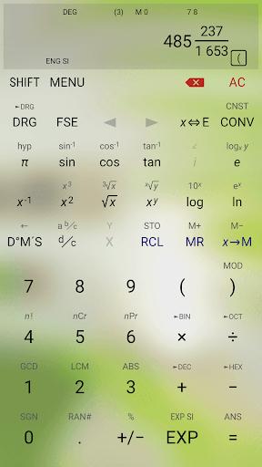 HiPER Scientific Calculator 6.1.1 screenshots 5