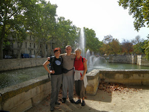 Photo: 1. den - Měli jsme dnes krásně (Jardin de la Fontaine, Nîmes)