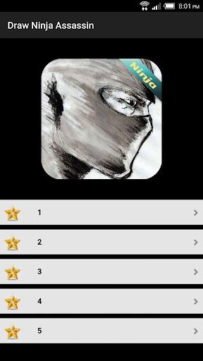 Draw Ninja Assassin