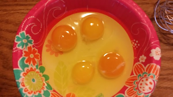 Here is a picture of 2 eggs I got off the coop yesterday (I...