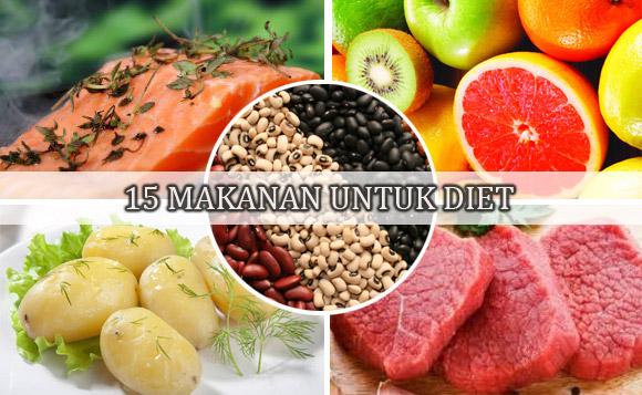 15 Makanan Untuk Diet Paling Populer