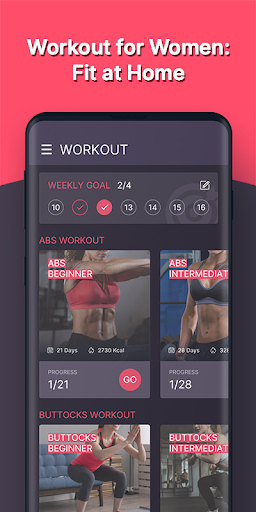 Workout for Women screenshot 1