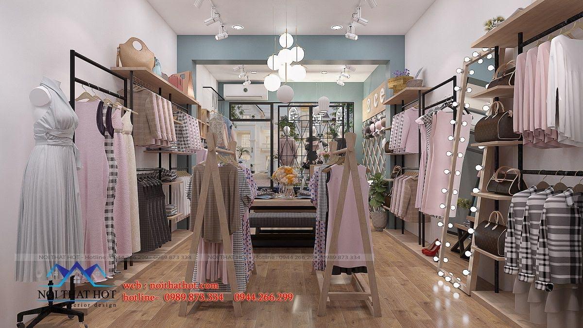 thiết kế shop thời trang nữ 2ce 6