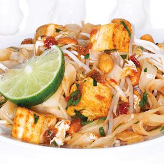 Saucy Tofu Pad Thai