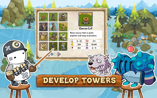 Tower Defense Realm King screenshots 17