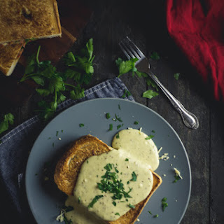 Welsh Rarebit with Four Cheese Sauce Recipe