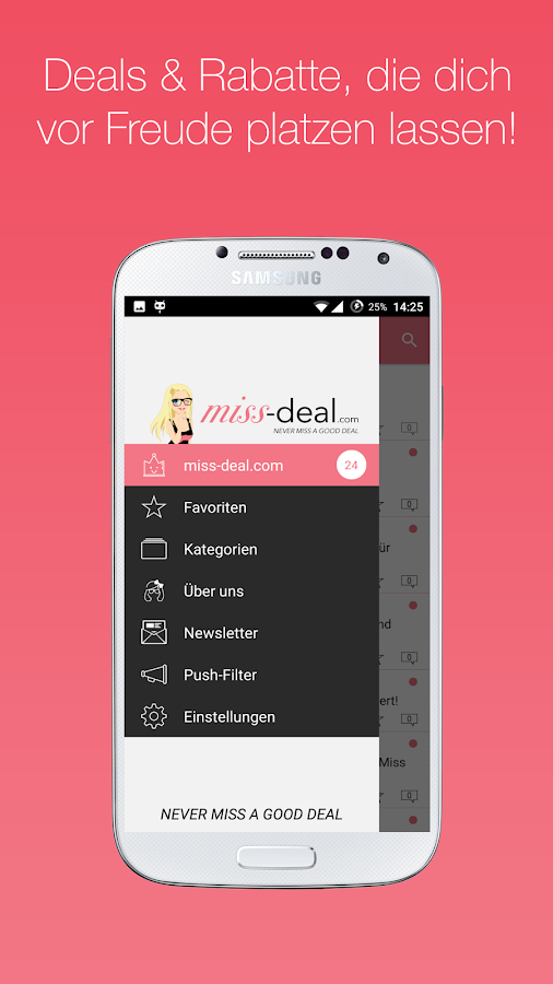 Miss Deal - Deals für Frauen- screenshot