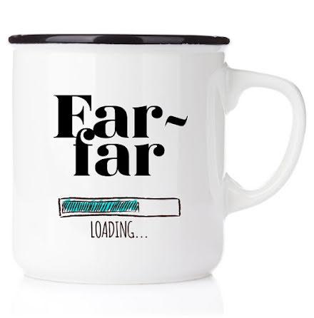 Emaljmugg - Farfar loading