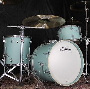 "Ludwig NeuSonic 20""-set - Skyline Blue - USA-TILLVERKADE!!"